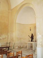 Eglise Saint-Christophe - English:   Villexavier, church Saint-Christophe, view into northern apse