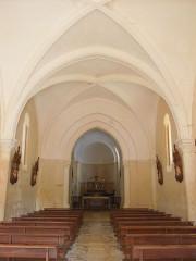 Eglise Saint-Christophe - English:   Villexavier, church Saint-Christophe, nave