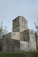 Eglise Saint-Pierre - Deutsch: Katholische Kirche Saint-Pierre in Soubise im Département Charente-Maritime (Nouvelle-Aquitaine/Frankreich)