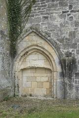 Eglise Saint-Pierre - Deutsch: Katholische Kirche Saint-Pierre in Soubise im Département Charente-Maritime (Nouvelle-Aquitaine/Frankreich), zugemauertes Portal