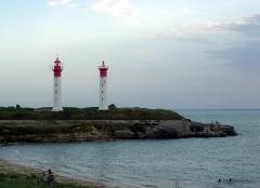 Phare de l'Ile d'Aix -  Description =Phares de l'Ile d'Aix  Source =Photo taken by Remi Jouan Date =Septembre 2006 Author =Remi Jouan