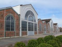 Ateliers Célestin Gérard, devenus Société française de matériel agricole et industriel, puis usine Case - Vierzon - Société française de matériel agricole et industriel factory