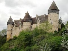 Eglise paroissiale Saint-Martial - Château de Culan.