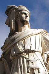 Monument à Jacques Coeur - English: Statue of Jacques Cœur in Bourges (bust)