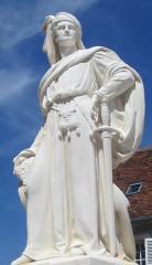 Monument à Jacques Coeur - English: Jacques Coeur