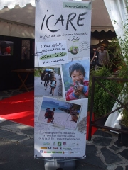 Cinéma Rex - English: Poster of the Responsible Tourism Festival Icare, Cinema Rex, Brive la Gaillarde, 2010 10 09