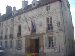 Hôtel de ville - English: Town hall of Saint-Jean-de-Losne (Côte-d'Or)