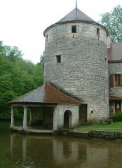 Ancienne abbaye bénédictine Saint-Pierre et Saint-Paul - English: Oysel tower, Bèze, Burgundy, FRANCE.