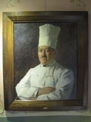 Ancien Hôtel de la Côte-d'Or, relais Bernard Loiseau - Portrait du chef Alexandre Dumaine - restaurant la Cote d'Or de Saulieu - Bernard Loiseau