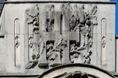 Hôtel des Postes - Français:   Détail de la façade de la poste place Grangier, à Dijon (France)