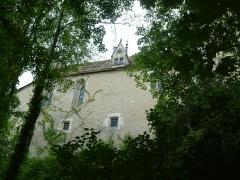 Domaine du château de La Rochepot - English: La Rochepot castle. Burgundy, FRANCE.