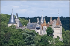 Domaine du château de La Rochepot - English: La Rochepot castle, Côte d'Or, Burgundy, France