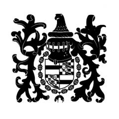 Domaine du château de La Rochepot - Русский: Emblem of Château de La Rochepot, France