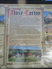 Château de Corton-André - Origine et historique d'Aloxe-Corton