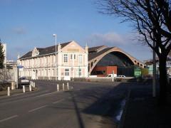 Ancienne gare ferroviaire départementale -  saint-brieuc - ancienne gare