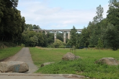 Viaduc de Toupin - Vallée du Gouëdic et viaduc de Toupin