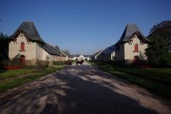 Haras national - Deutsch: Lamballe in der Bretagne, Frankreich. Blick in das Gestüt in Lamballe (geotags in den EXIF-Daten).