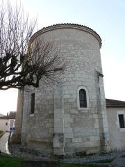 Eglise Saint-Méard - Français:   Le chevet de l\'église Saint-Méard, Saint-Méard-de-Drône, Dordogne, France.