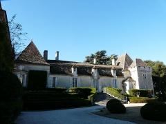 Château de Pouthet - Français:   La façade nord du château de Pouthet, Eymet, Dordogne, France.