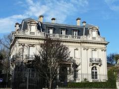 Hôtel Brou de Laurière - Français:   La façade sud-est de l\'hôtel Brou de Laurière, Périgueux, Dordogne, France.