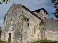Eglise Saint-Pierre-Es-Liens - Français:   église de Rossignol, Gout-Rossignol, Dordogne, France