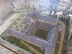 Presbytère de Remoray - Français:   Maquette de 1999 au 1/100e de l\'Abbaye de Mont-Sainte-Marie à partir d\'un plan de 1773
