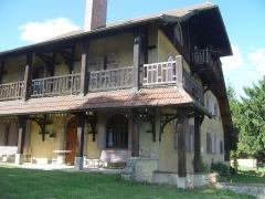 Maison de Monte au Lever - Français:   Les Grangettes (Doubs - France) - demeure de Monte-au-Lever, monument historique