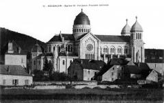 Basilique Saint-Ferréol et Saint-Ferjeux - English: The Basilique Saint-Ferjeux of Besançon(Doubs, France) (1900's)