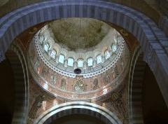Basilique Saint-Ferréol et Saint-Ferjeux - English: Cupola of the basilica Saint-Ferjeux located in Besançon (Doubs, France)