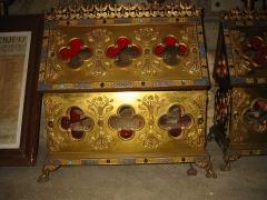 Basilique Saint-Ferréol et Saint-Ferjeux -  Reliquaire de Saint Ferjeux dans la crypte de l'Eglise Saint Ferjeux de Besançon