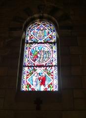 Basilique Saint-Ferréol et Saint-Ferjeux - English: A stained glass of the basilica of Saint-Ferjeux, located in Besançon (Doubs, France)