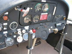 Aérodrome de Besançon-Thise -  Avion de tourisme Morane-Saulnier Rally MS893 - aéro-club de Besançon Thise