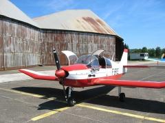 Aérodrome de Besançon-Thise -  Avion de tourisme Robin DR315 - aéro-club de Besançon Thise