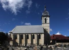Eglise paroissiale - Français:   Église de Mouthe (25).