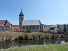 Eglise paroissiale - Français:   Église de l\'Assomption de Mouthe (Doubs)