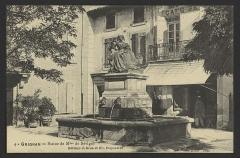 Statue de Madame de Sévigné - English: CA 1908