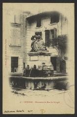Statue de Madame de Sévigné - English: CA 1900