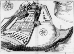 Ancienne abbaye - French archaeologist and historian