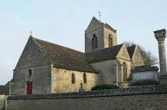 Eglise Saint-Maurice - Français:   Église de Vesly (Eure)