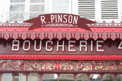 Boucherie Pinson - Français:   le fronton