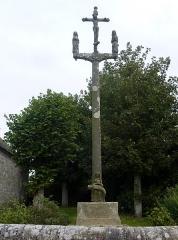 Calvaire de la chapelle Sainte-Catherine - Français:   Mespaul: le calvaire près de la chapelle Sainte-Catherine
