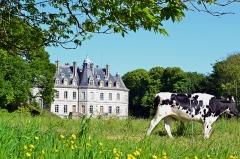 Domaine de Kernévez - Français:   Château de Kernevez et son parc à Saint-Pol-de-Léon (Finistère).