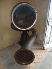 Phares de la pointe de Penmarc'h - Corne de brume (exposée dans l'ancien phare de Penmarch)
