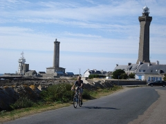 Phares de la pointe de Penmarc'h -  Phares Pointe de Penmarc'h, Finistère, Bretagne, France.