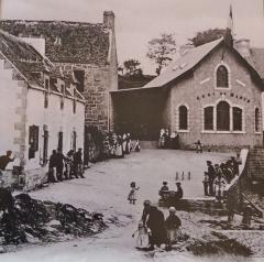 Abri du marin de Sainte-Marine - Français:   Sainte-Marine: «l\'Abri du marin» au début du XXe siècle