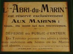 Abri du marin de Sainte-Marine - Français:   Sainte-Marrine: \