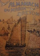 Abri du marin de Sainte-Marine - Français:   Almanach du marin breton 1899 (première année de parution), page de couverture
