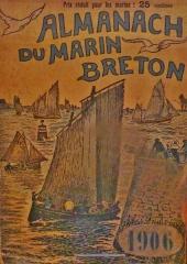 Abri du marin de Sainte-Marine - Français:   L\'Almanach du marin breton 1906, page de couverture