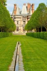 Ancien pavillon de chasse de Moniven - Français:   Château de Trévarez aile Ouest