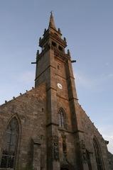 Eglise Sainte-Croix - Brezhoneg: Iliz Sainte-Croix Konk-Leon.